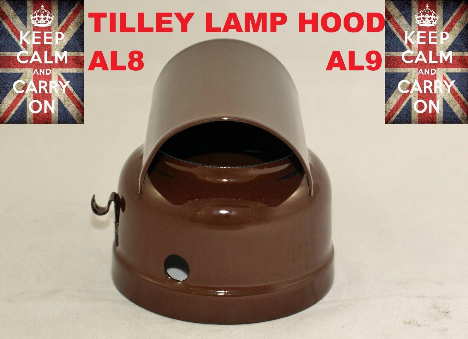 TILLEY LAMP HOOD   AL8   AL9 VITREOUS ENAMELLED  PARAFFIN LAMP SERVICE KIT PART  outlet factory shop