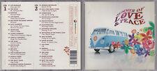 2 CD SUMMER OF LOVE & PEACE THE BYRDS/SIMON & GARFUNKEL/PROCOL HARUM/HARDIN 2007