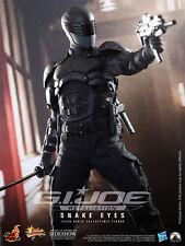 """G.I. JOE: SNAKE EYES 1/6 SIXTH SCALE ACTION FIGURE 12"""" HOT TOYS"""
