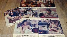 LA MAISON ! michel simon  tres rare jeu 7 photos cinema luxe 1970