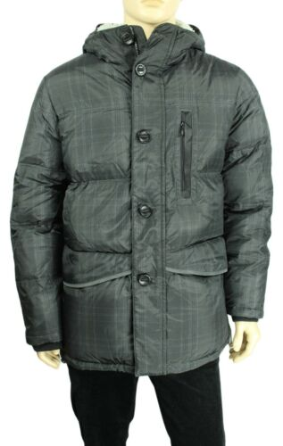 NEW NAUTICA PERFORMS CHARCOAL WATER RESISTANT HOODED DOWN PUFFER JACKET $348