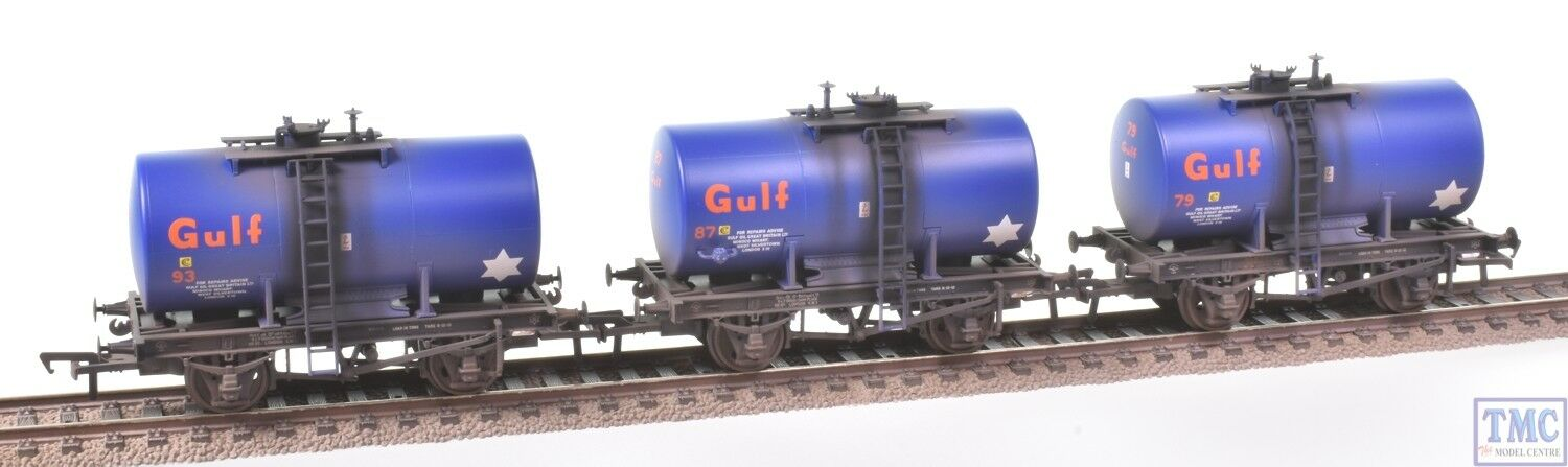 38-776Z Bachuomon OO 20 Ton Anchor-Mounted Tank Wagons -TMC Limited- Weatherosso