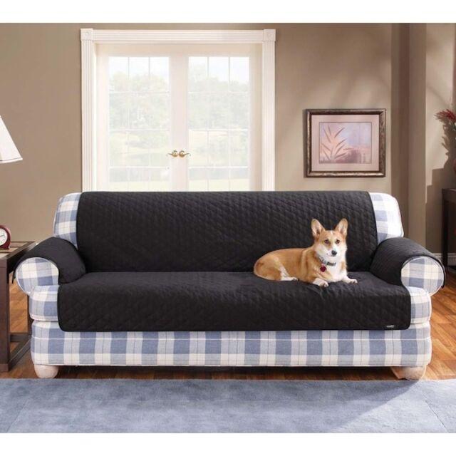 Surefit 100 Cotton Duck Sofa And