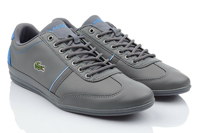 NEU LACOSTE MISANO SPORT LEDER 118 Herren EXCLUSVIE Sneaker LEDER SPORT Schuhe Turnschuhe 36914a