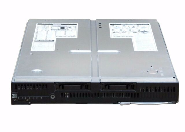 HP PROLIANT BL685C G6 BLADE SERVER 4X AMD OPTERON 2.6GHz 256GB RAM 2X 146GB SAS