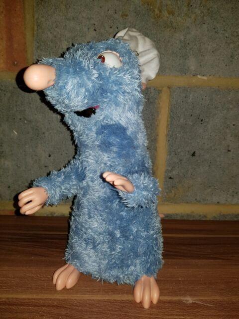 Remy The Chef Rat Ratatouille Talking Moving Interactive Toy Pixar Disney Mattel For Sale Online Ebay