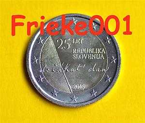 Slovenie-2-euro-2016-comm-25-jaar-onafhankelijkheid