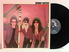 JOHNNY WINTER RAISIN' CAIN 1980 BLUE SKY LP MINT VINYL!