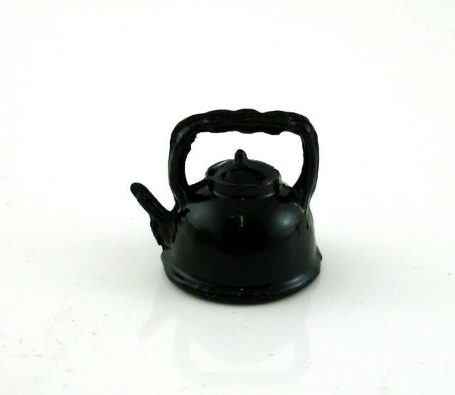 Dollhouse Miniature Metal Teapot Teakettle Pitcher New for Doll house Kitchen