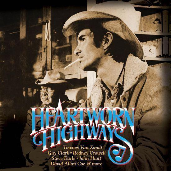 Heartworn Autobahnen Original Soundtrack 2x Vinyl LP Record! Spiegelanordnung Van Zandt NEU!