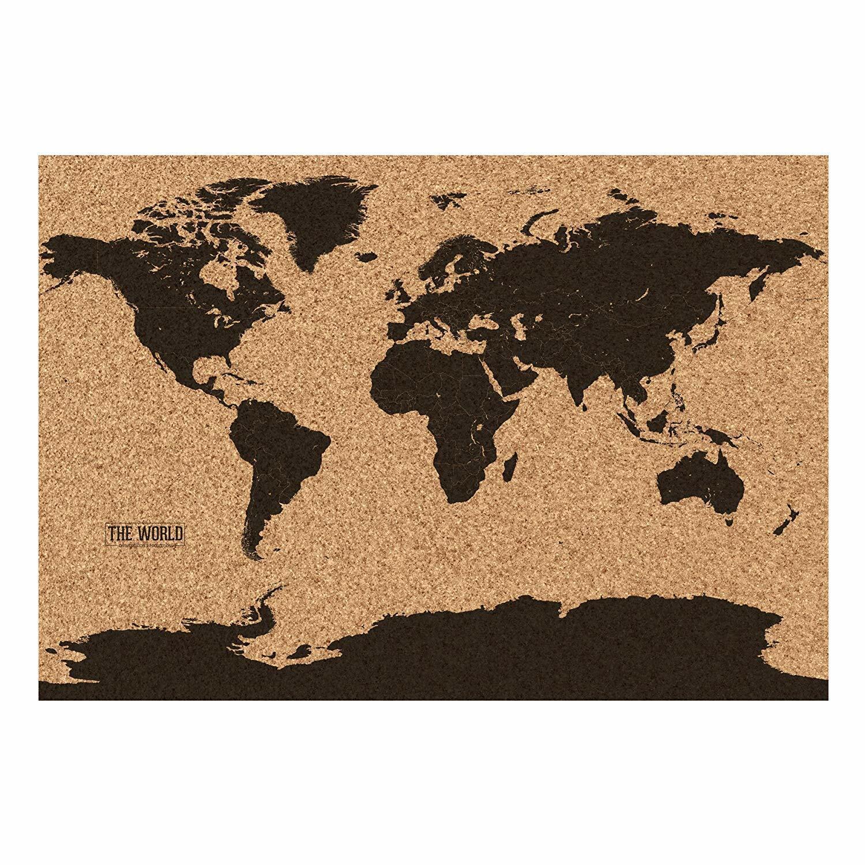 Cartina Mondo In Sughero.Gift Republic Mappamondo In Sughero J3y Acquisti Online Su Ebay