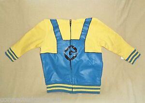 Despicable Me Minions Gru Uniform Infant/Toddler Hoodie Jacket (SIZES 18m - 4T)