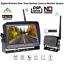 "7/"" Monitor Digital Wireless Reversing IR CCD Camera For Caravan Truck Van RV Kit"