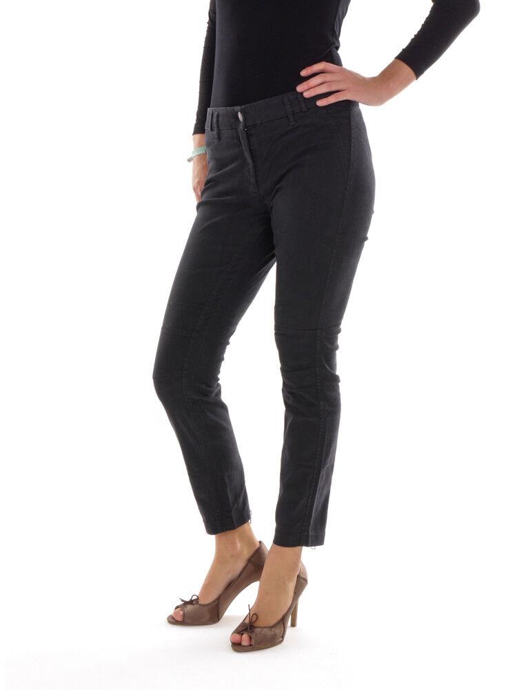 Cambio Pantalon en Tissu Pantalon de Loisir black Renja Stretch Fermeture Éclair