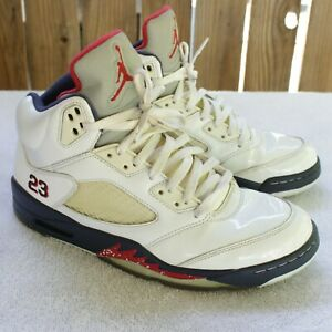 d3a8b3d13b72 Nike Air Jordan 5 V Retro Independence Day Size 11 USA Olympic ...