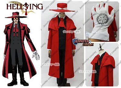 Hellsing Ultimate Set Vampire Hunter Tailored Cosplay Costume