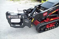 Mini Skid Steer Loaders Tree and Shrub Grapple,Fits Toro Ditch Witch,Vermeer,New