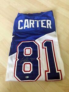 online retailer 684dd 7b605 Details about Vikings Chris Carter Signed Auto Autographed NFL Pro Bowl  Jersey EJC Sports COA