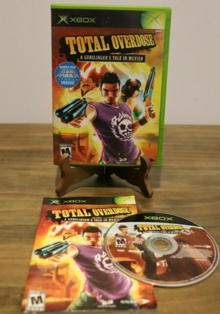 Total Overdose: A Gunslinger's Tale in Mexico (Microsoft Xbox, 2005)
