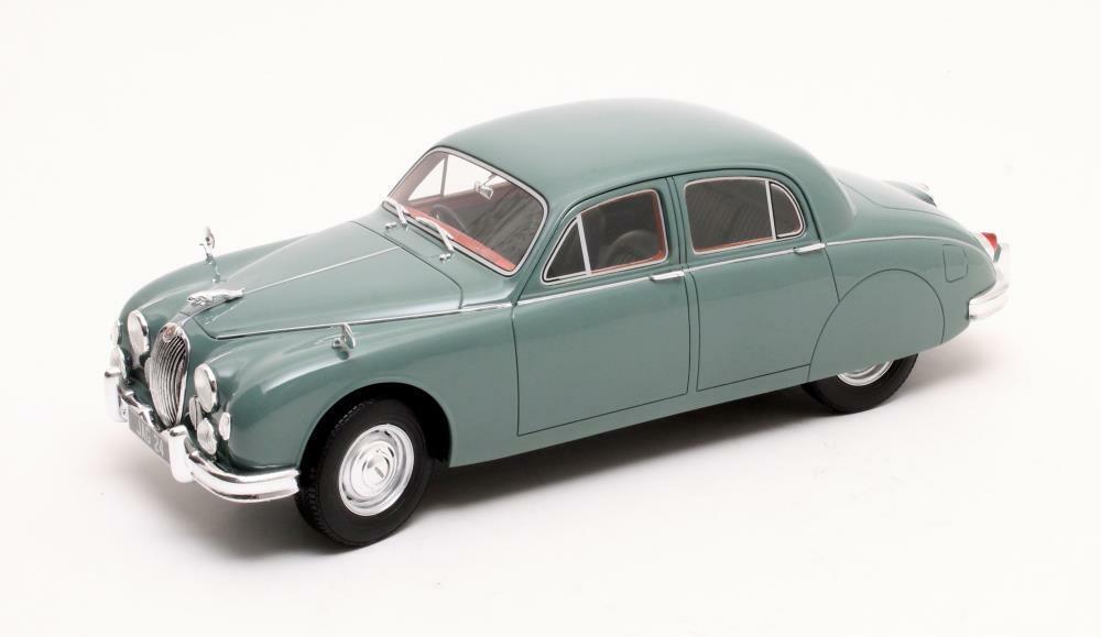 Jaguar mk1 2.4 modellololi verdi 1955 1 18 cult