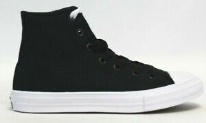 Converse Chuck Taylor All Star II Hi Sneaker  Black White  Kid s ... 838e07d78