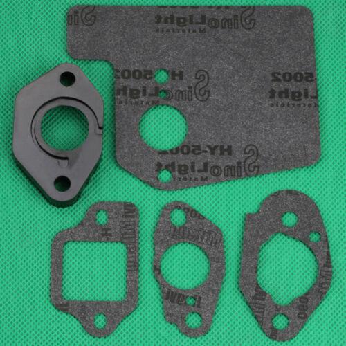 GCV190 GSV190 Engine Carburetor Insulator Muffler Gasket Kits For Honda GCV160