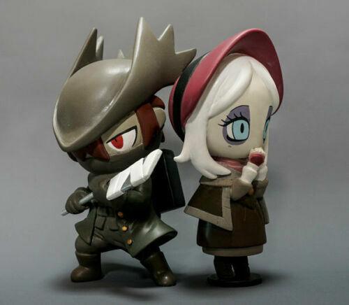 Bloodborne Hunter et poupée Vinyl Figure Statue Set Sony PS4 Licence Officielle
