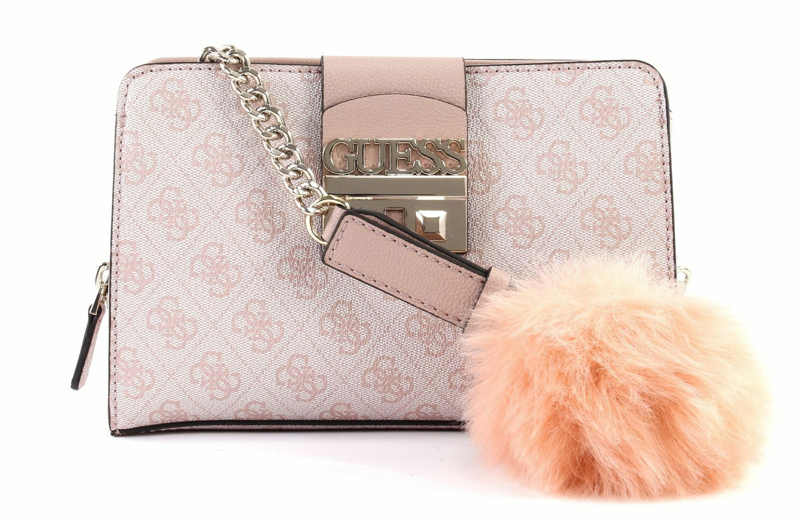 GUESS Cross Body Bag Logo Luxe Crossbody Blush for sale online  a212b45169