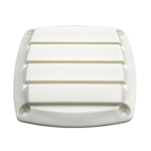 Marine Louvered Vents Round 3 inch Hose Hull Air Vent Boat White