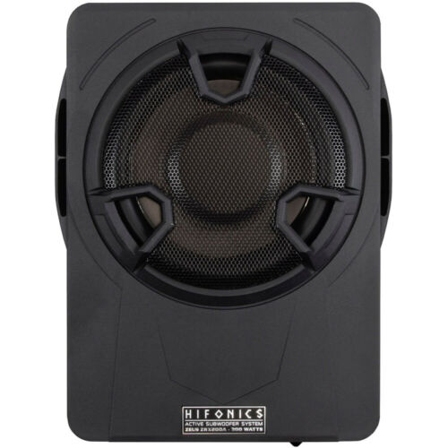 ZRX200A Hifonics Zeus ZRX 200A 20cm Untersitz Aktiv Subwoofer Bass Bassbox