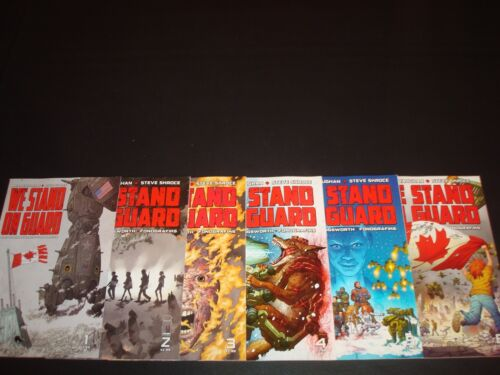 We Stand on Guard 1-6 Complete Comic Lot Run Set Image Brian Vaughan Collection