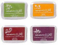 Tsukineko Memento Luxe Large Ink Pad - Various Colors - Choose One