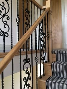 Image Is Loading Wrought Iron Metal Stair Spindles Internal And External