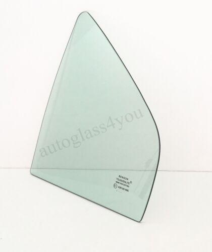 For 99-03 Mitsubishi Galant 4-DR Sedan Rear Vent Window Glass Driver//Left Side