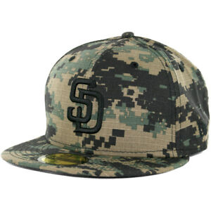 new arrival detailing look out for New Era 59Fifty San Diego Padres Fitted Hat (Digi Ripstop Camo ...