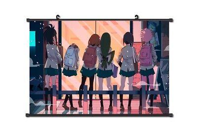 Hot Anime Boku no Hero Academia Tsuyu Poster Wall Scroll Home Decor 60*40CM P03