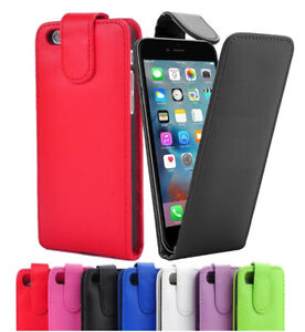 For-Apple-iPhone-iPod-Touch-Flip-Down-Case-Cover-in-PU-Leather-Multi-Listing
