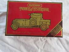 MATCHBOX MODELS OF YESTERYEAR YS 38 1920 ROLLS ROYCE ARMOURED CAR
