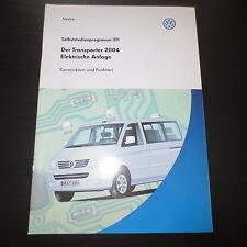VW SSP Selbststudienprogramm 311 Der Transporter Bus ab'04 T5 Elektrische Anlage