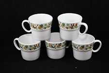 Noritake Homecoming Cups Mugs Set of 5