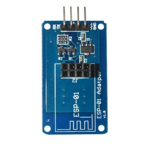 ESP8266 Seriell Wi-Fi Wireless ESP-01 Adapter-Modul 3.3V 5V Kompatibel f K2S9 4X