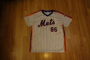 New York Mets 1986 25th Anniversary XL Jersey Dunkin' Donuts