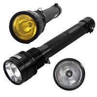 Agm 8500lm Hid Xenon Torch Flashlight 8700mah 85w/65w/45w Spotlight Lamp Light