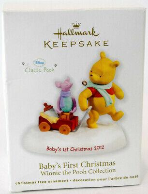 Hallmark: Baby's FIrst Christmas - Winnie The Pooh - 2012 ...