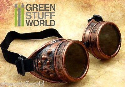 Gafas COBRE - SteamPunk - Estilo Epoca Victoriana - Gotico Cosplay - Disfraces