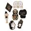 Creative-Enamel-Skull-Girls-Pattern-Collar-Pins-T-shirt-Brooch-Badge-Jewelry miniature 4