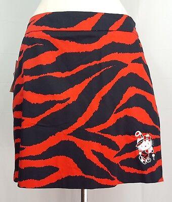 18ffd28c5 LOUDMOUTH Ladies Golf Skort Skirt Red Animal Print Hello Kitty Sanrio SZ 10  NWT