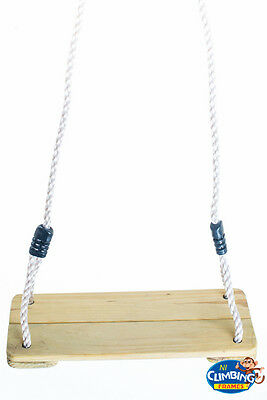 Wooden 2m! Wooden Tree Swing Seat Climbing Frame Swing Set Outdoor RRP £24.95