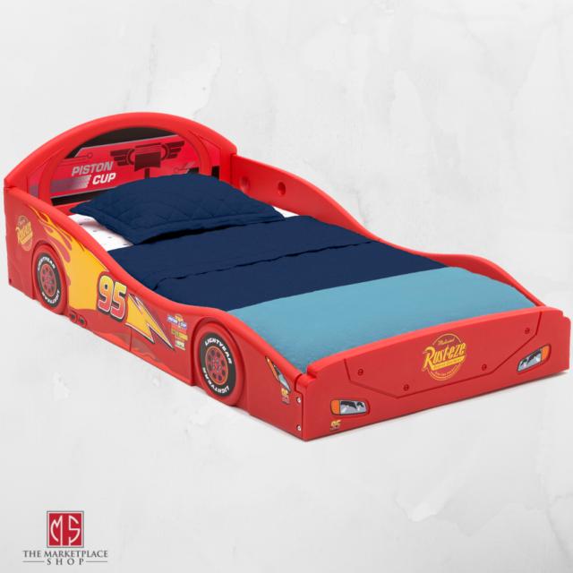 Disney Cars Bed Toddler Kids Bedroom Furniture Boys Girls Lightning Mcqueen For Sale Online Ebay