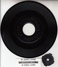 "GERI HALLIWELL  Mi Chico Latino SPICE GIRLS 7"" 45 record + juke box strip RARE!"
